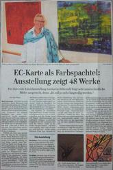 Artikel in den Lübecker Nachrichten